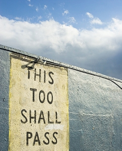 """This Too Shall Pass."" Courtesy of Sherman Charles, Photographer. www.ShermanCharles.com"