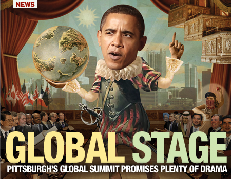 Pittsburgh City Paper highlight Pres. Obama and the G20 Summitt