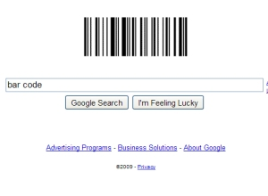 Google Logo Celebrates Barcode Patent