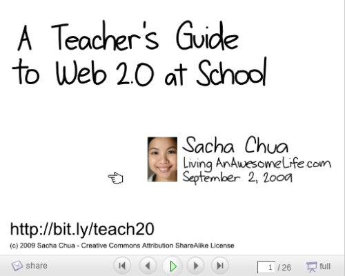 Teachers Guide to Web 2.0