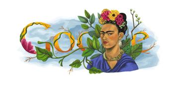 Google Celebrates Frida Kahlo