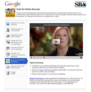 Google launches Small Business Site with SBA