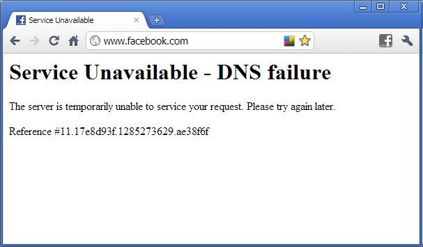 Facebook is down? Whoa!   Amos White Internet Marketing